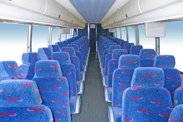 40 – 50 people charter bus