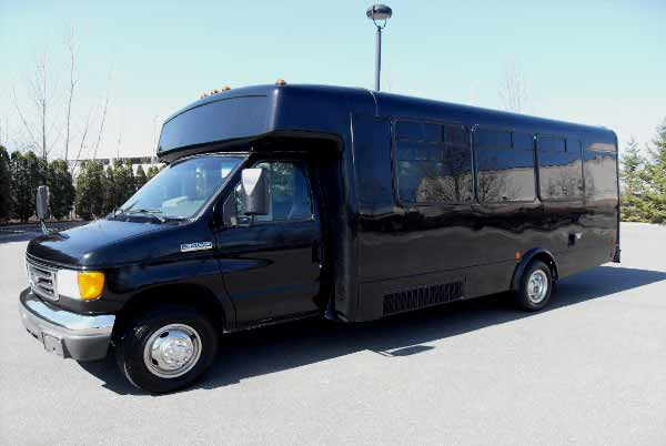 18 passenger party bus Candler McAfee
