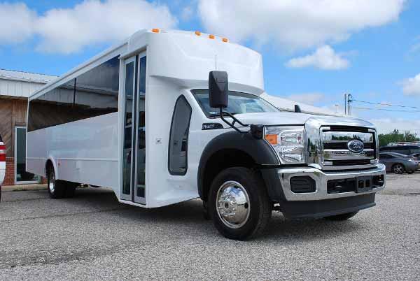 22 Passenger party bus rental Lawrenceville