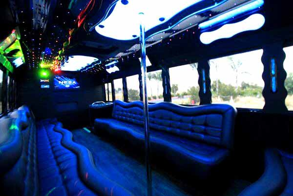 40 people party bus Candler McAfee
