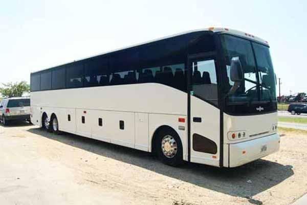 50 passenger charter bus Forest Park