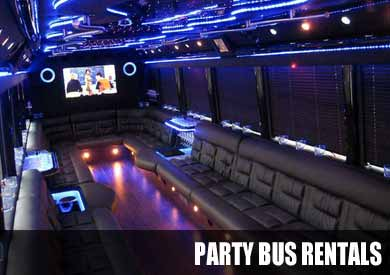 Airport Transportation Party Bus in Atlanta