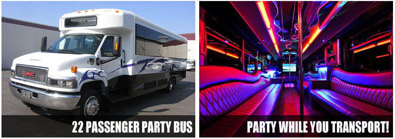 Charter party bus rentals Atlanta