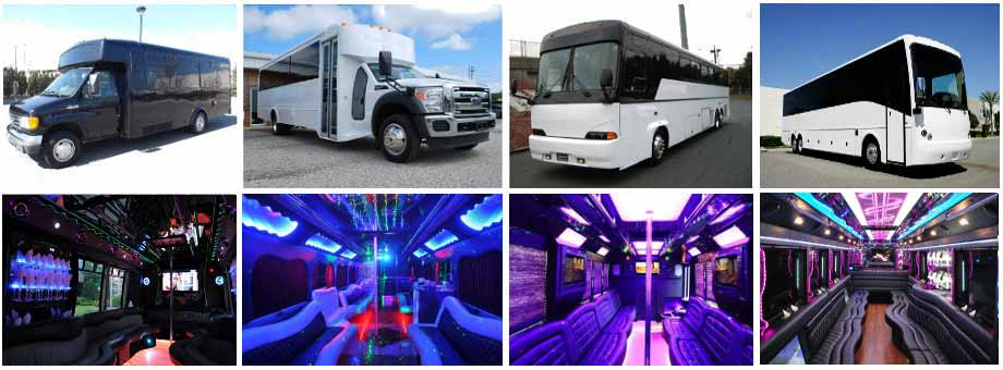 Prom & Homecoming Party buses Atlanta